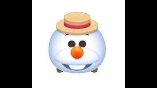 Disney Line Tsum Tsum Summer Olaf 夏日雪寶 サマーオラフ Skill 6 Level 2 冰雪奇緣 Frozen