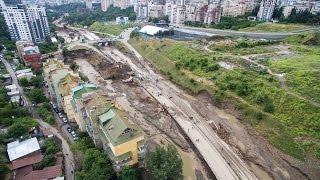 Наводнение в Тбилиси.