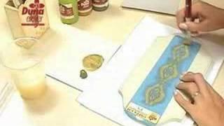 Duna Atelier- Técnica Provençal com aplicação de estêncil