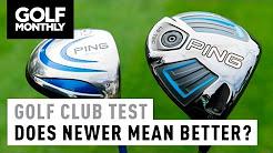 Old vs New Golf Club Test | Golf Monthly
