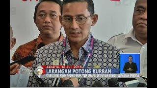 Masjid di Jakarta Dilarang Potong Hewan Qurban, Ini Penjelesan Sandiaga Uno - BIS 13/07