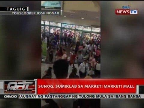 QRT: Sunog, sumiklab sa Market! Market! mall