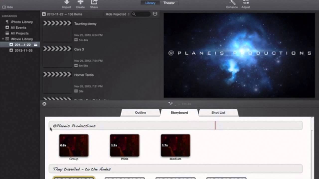 iMovie 2013 Tutorial: How to Make a Studio Style Opening for your ...