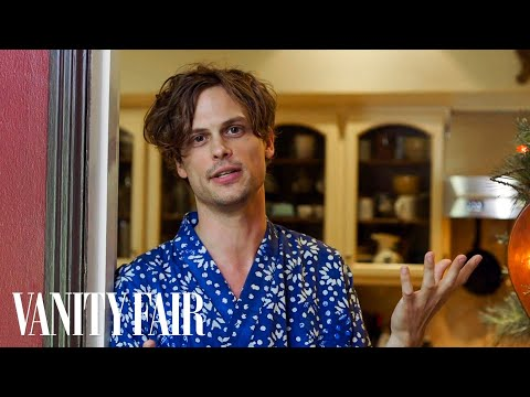 "Why Matthew Gray Gubler Lives in a ""Haunted Tree House"""