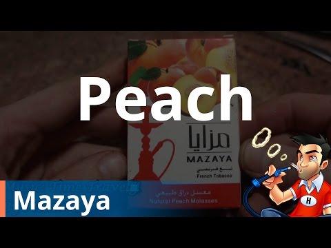 Mazaya Peach Shisha (Hookah) – Review