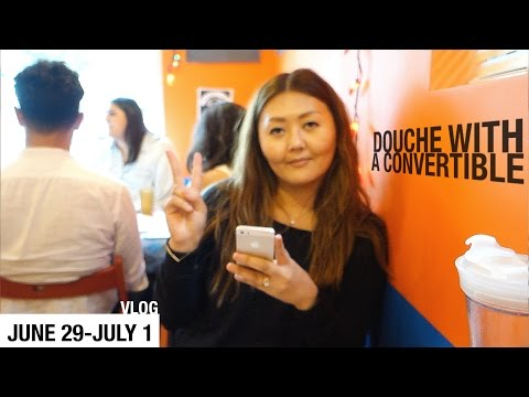 VLOG - DOUCHE WITH A CONVERTIBLE - June 29 - July 1