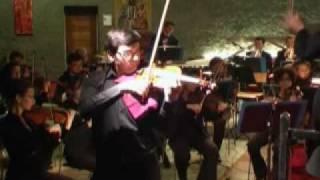 J.Brahms Concerto pour violon et orchestre.