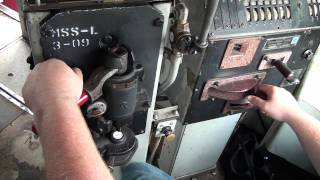 Cab Ride on an old EMD Diesel Engine