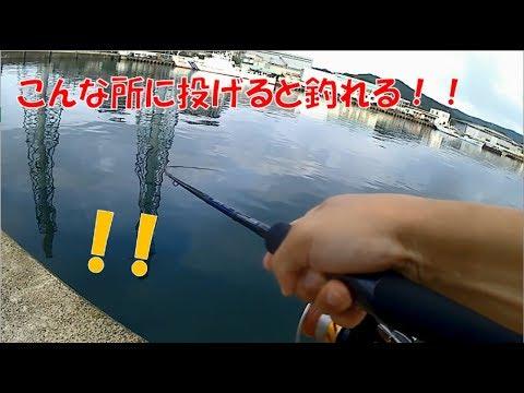 アジング釣れすぎ注意!!メタルジグでアジ狙い!さらにカニを投げて釣れたのは・・