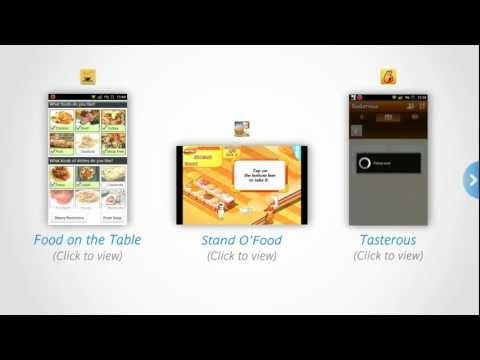 Discovering three delicious cooking apps for Android
