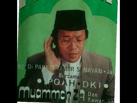 Shalawat Al Kirom Yang Bikin Nangis Oleh H Muammar ZA & IPQOH DKI - Tablig Akbar Di Senayan Th.1992