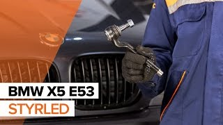 Så byter du styrled på BMW X5 E53 GUIDE | AUTODOC