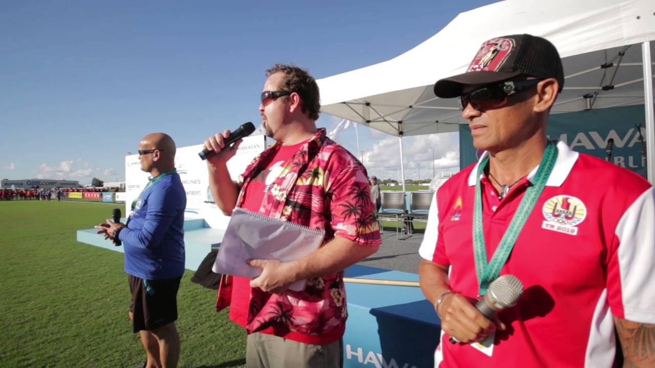 Va'a 2016 Opening Ceremony - Sunshine Coast Skydivers