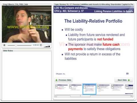 R14   Linking Pension Liabilities to Assets