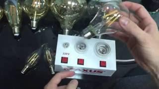 видео Филаментные лампы