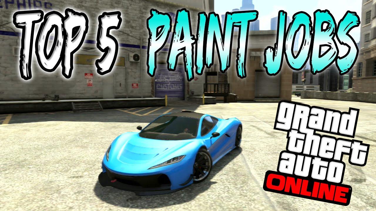 Car paint colour - Gta 5 Online Top 5 Paint Jobs Car Colour Schemes Online Best Rare Paint Jobs 1 37 1 38