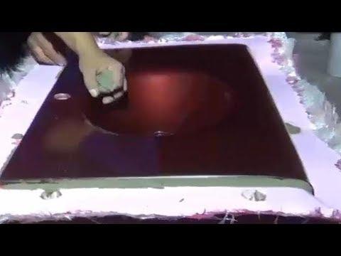 رخام صناعى  فى  فيبرجلاس ممتاذ Manufacture of industrial marble in fiberglass molds thumbnail