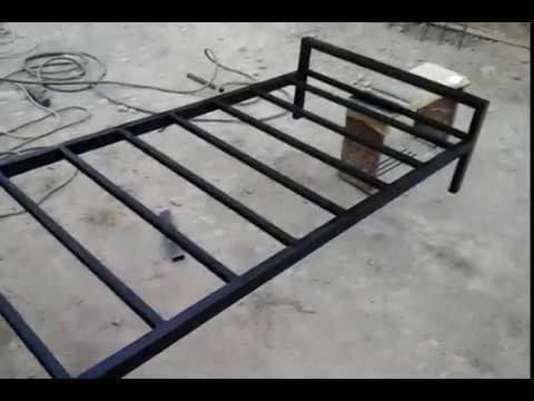 металлическая кровать своими руками Youtube