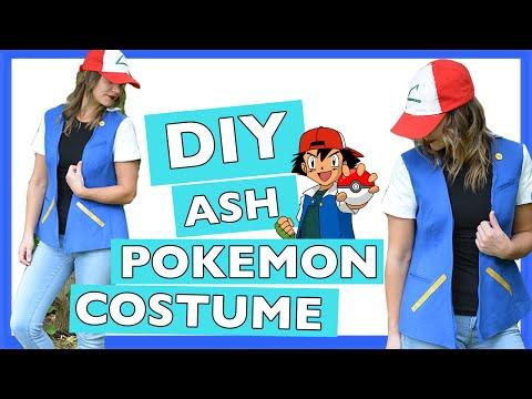 DIY Ash Pokemon Halloween Costume | Quick And Easy Tutorial