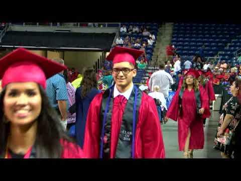 2018 Goose Creek Memorial Graduation