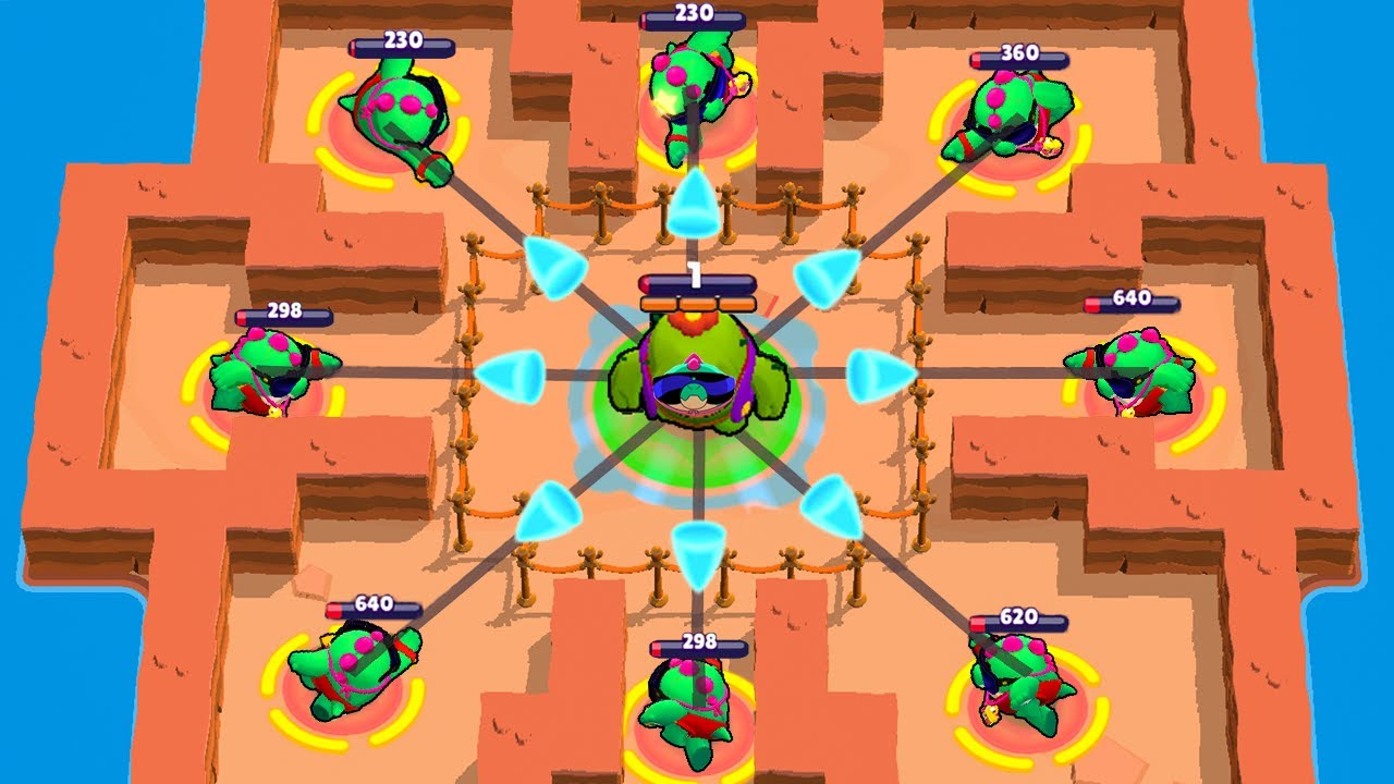 LUCKY SPIKE or PRO SPIKE!   Brawl Stars Funny Moments & Glitches & Fails #497