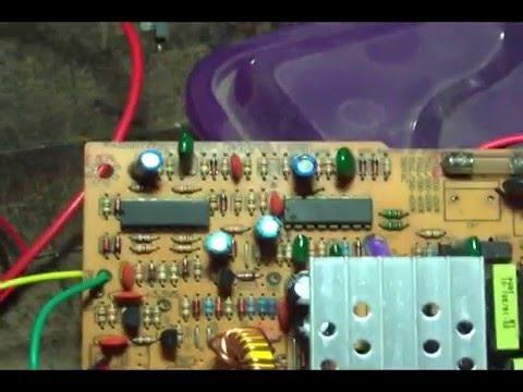 Fonte PC _Carregador de bateria 12 a 13 8 volts_ Ic SDC 339 _ 7500