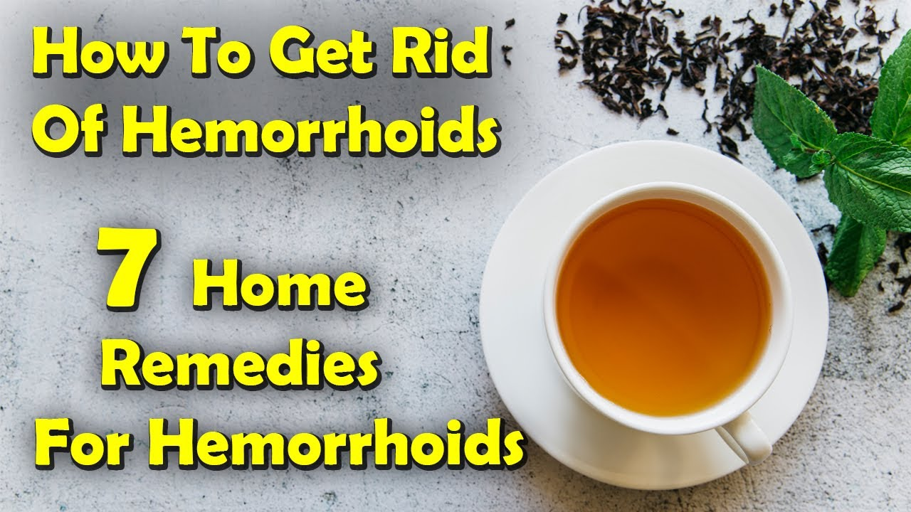 how to get rid of hemiroids