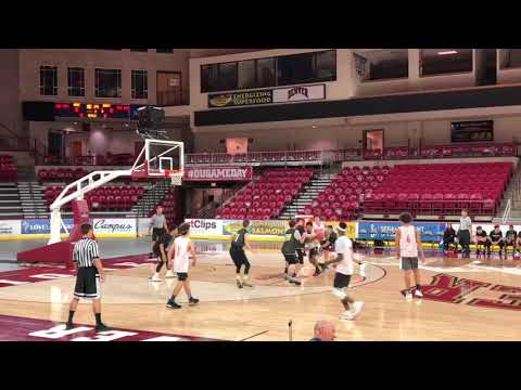 Dominic Marrujo (Fr.) #8 University of Denver High School Varsity Basketball Team Camp Summer 2019