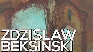 Zdislaw Beksinski: A collection of 461 paintings (HD)