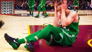 Gordon Hayward Dislocates Ankle & Fractures Tibia (VIDEO)