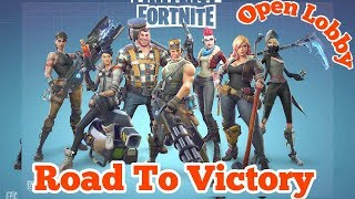 Fortnite with friends | Let's get 100 Total Wins | Fortnite Battle Royal | Road to 700subs(633/700)