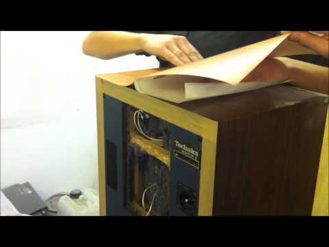 Technics  Перетяжка пленкой. Technics  film wraping