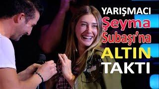 Şeyma Subaşı'na Altın Takıldı - O Ses Türkiye