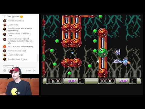 Live Amiga Stream - Z-Out / Bubble Bobble & Viewer Requests - Morgan Just Games