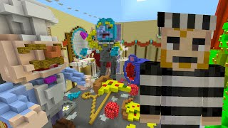 Minecraft Xbox - Cops and Robbers - The Muppets Show