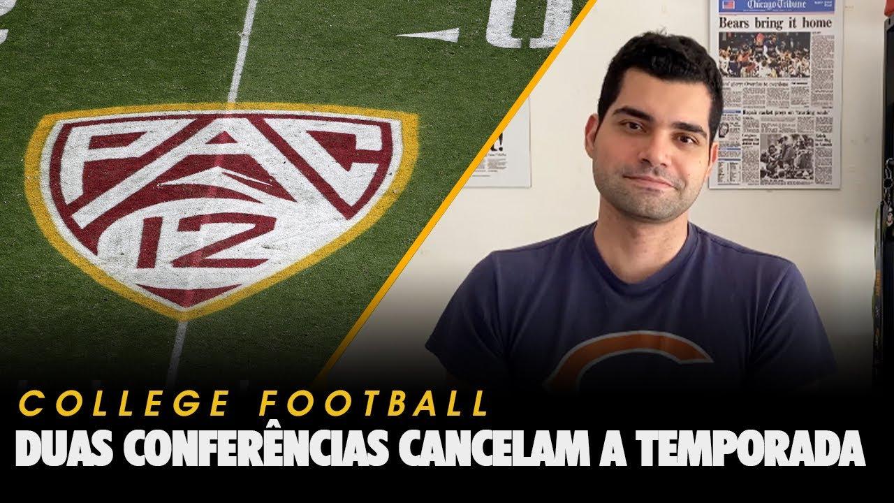 Duas conferências do college cancelam a temporada