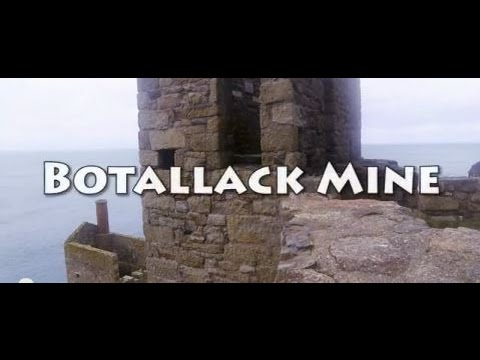 History of Cornish Mining - Botallack Mine - Features in Poldark
