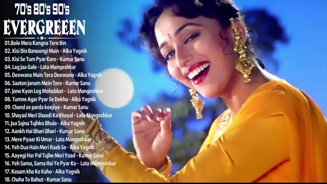 BEST Of Bollywood Old Hindi Songs, Romantic Heart Songs_ Kumar Sanu, Alka Yagnik, Lata Mangeshkar