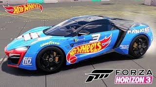 Lykan HiperSport 2016 W Motors no Jogo Forza Horizon 3 PC Gameplay