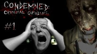 Condemned Criminal Origins #1 HORROR Survival Detective Game? (Lets Play / 1080p / Facecam)