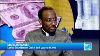 FRANCE 24 The Interview - Sanusi Lamido Sanusi, Governor of the Central Bank of Nigeria thumbnail