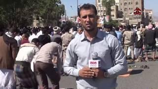 تظاهرة بساحة الحرية بتعز للمطالبة باستكمال تحرير المحافظة | تقرير عبدالعزيز الذبحاني | يمن شباب