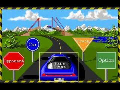 Broderbund Software - Stunts v1.1 [1991]