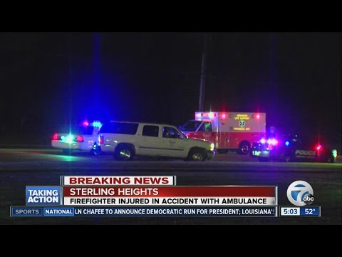 Sterling Heights firefighter hurt