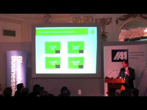 Corporate Brand Management: An Experience From BP | Luc Bardin speaks at the IAA Business Lunch