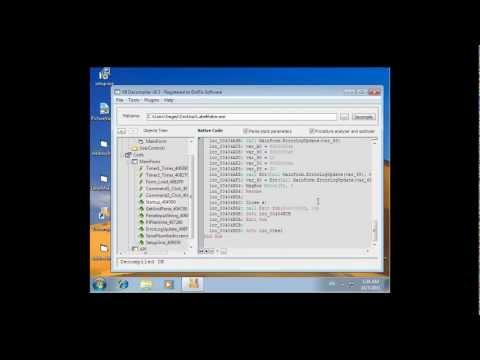 VB Decompiler Native Code Decompilation