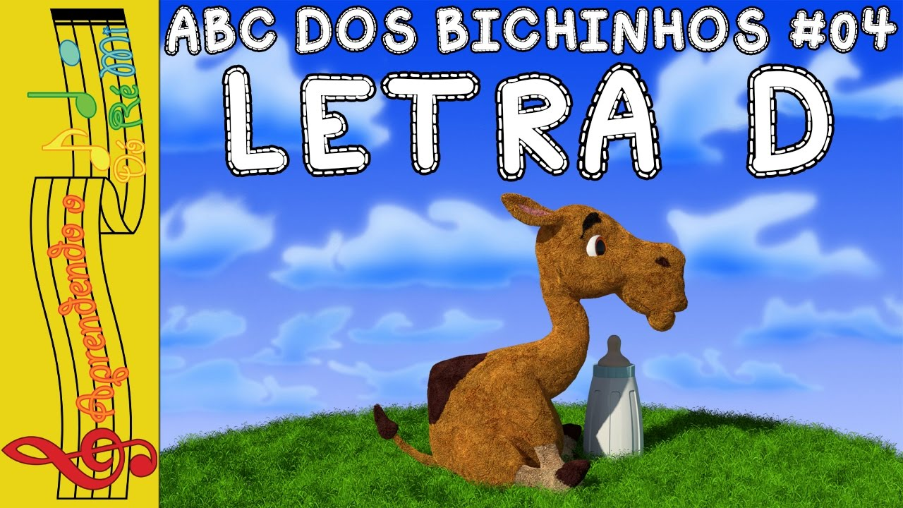 abc dos bichinhos 04 letra d youtube