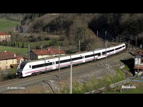 TRAINSPOTTING VOL 1306 Trenes renfe cruzándose U 4K