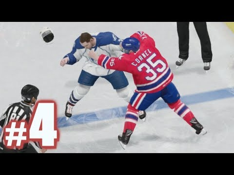 FIGHT! | NHL 18 | Be A Pro #4