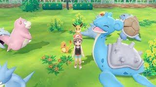 So many new Pokemon!!! (Pokemon Let's Go, Pikachu)